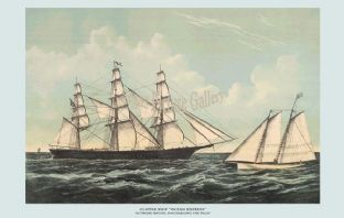 Clipper Ship - Ocean Express